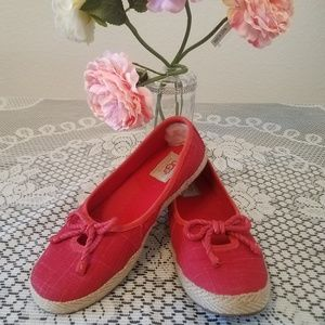 UGG, Celestial red slip-on shoes size 7.
